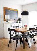 Rustic farmhouse dining room table decor ideas 30