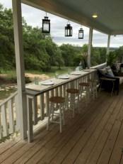 Rustic farmhouse porch steps decor ideas 21