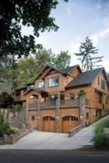 Rustic farmhouse porch steps decor ideas 28