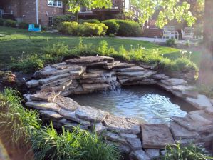 Small backyard waterfall design ideas 02