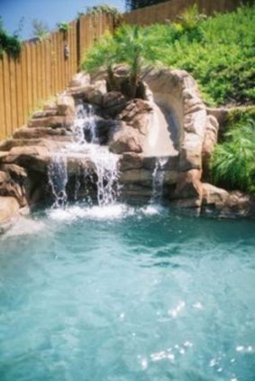 Small backyard waterfall design ideas 05