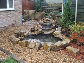 Small backyard waterfall design ideas 06