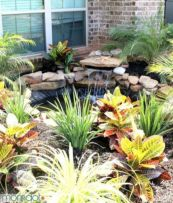 Small backyard waterfall design ideas 12