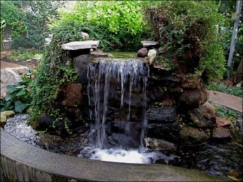 Small backyard waterfall design ideas 32