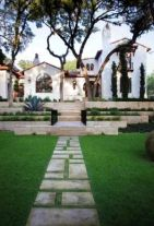 Stunning front yard entrance path walkway landscaping ideas 10