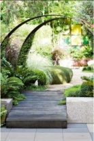 Stunning front yard entrance path walkway landscaping ideas 12