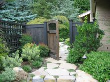 Stunning front yard entrance path walkway landscaping ideas 15