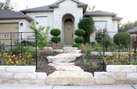Stunning front yard entrance path walkway landscaping ideas 21