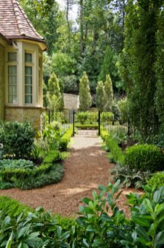 Stunning front yard entrance path walkway landscaping ideas 46