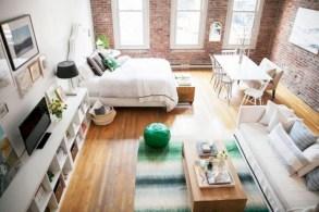 Stylish apartment studio decor furniture ideas 07