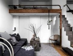 Stylish apartment studio decor furniture ideas 13