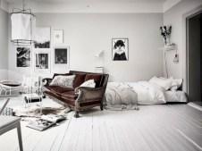 Stylish apartment studio decor furniture ideas 27