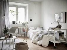 Stylish apartment studio decor furniture ideas 29