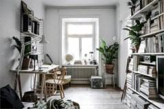 Stylish apartment studio decor furniture ideas 33