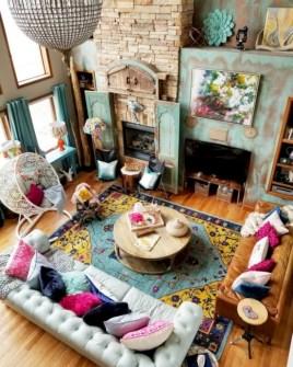 Totally inspiring boho living room ideas 09