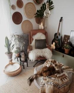 Totally inspiring boho living room ideas 28