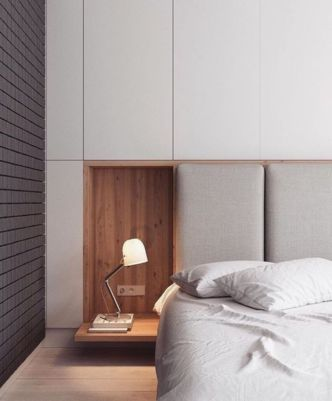 Adorable minimalist bedroom design decor ideas (15)