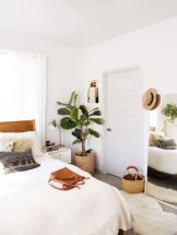 Adorable minimalist bedroom design decor ideas (31)