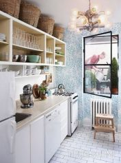 Affordable kitchen cabinet organization hack ideas (14)
