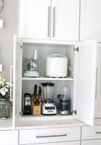 Affordable kitchen cabinet organization hack ideas (17)