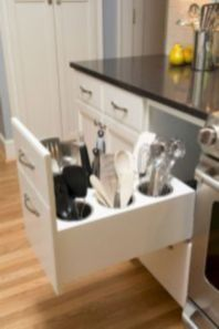 Affordable kitchen cabinet organization hack ideas (20)