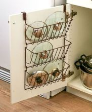 Affordable kitchen cabinet organization hack ideas (21)