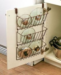 Affordable kitchen cabinet organization hack ideas (21)