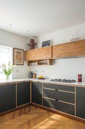 Affordable kitchen cabinet organization hack ideas (23)