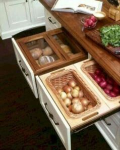Affordable kitchen cabinet organization hack ideas (31)