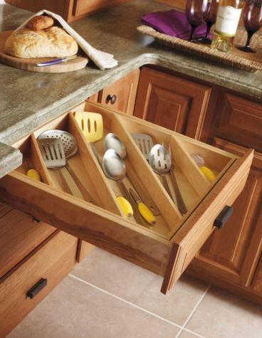 Affordable kitchen cabinet organization hack ideas (46)