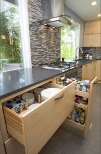 Affordable kitchen cabinet organization hack ideas (6)