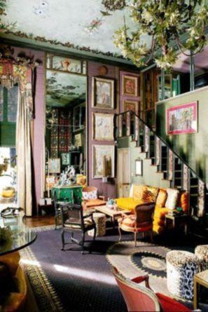 Amazing bohemian style living room decor ideas (29)