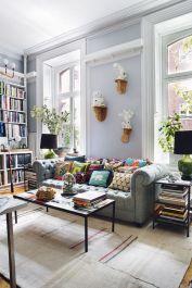 Amazing bohemian style living room decor ideas (7)