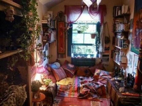 Awesome bohemian style home decor ideas (10)