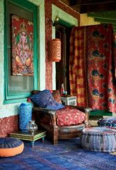 Awesome bohemian style home decor ideas (14)