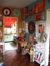 Awesome bohemian style home decor ideas (15)