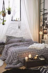 Awesome bohemian style home decor ideas (27)