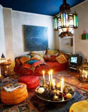 Awesome bohemian style home decor ideas (40)