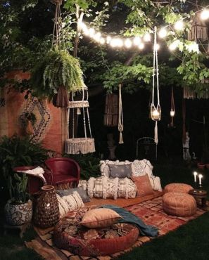Awesome bohemian style home decor ideas (6)