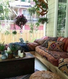 Awesome bohemian style home decor ideas (8)