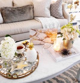 Beautiful marble coffee table design ideas for living room (14)