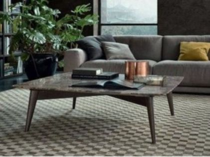 Beautiful marble coffee table design ideas for living room (33)