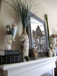 Beautiful spring mantel decorating ideas on a budget (13)