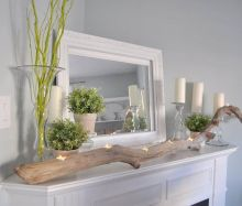 Beautiful spring mantel decorating ideas on a budget (42)