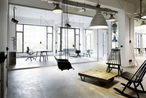 Best ideas for minimalist office interiors (10)