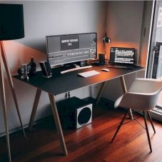Best ideas for minimalist office interiors (22)