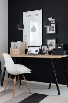 Best ideas for minimalist office interiors (35)