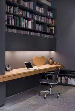 Best ideas for minimalist office interiors (40)
