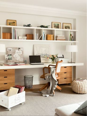 Best ideas for minimalist office interiors (7)