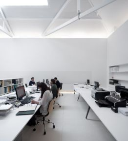 Best ideas for minimalist office interiors (9)